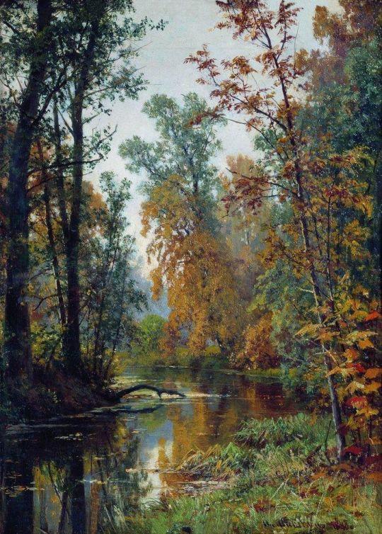 Осенний пейзаж. Парк в Павловске.