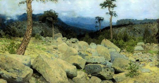 В крымских горах1.