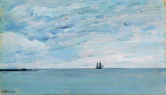 Море у финляндских берегов.
