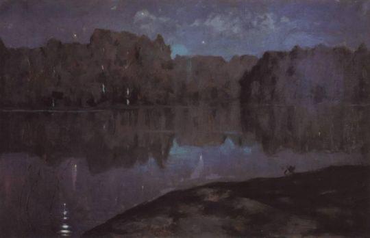 Ночь. Берег реки. Конец