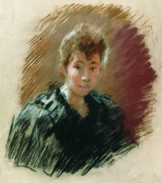 Портрет С.П.Кувшинниковой.