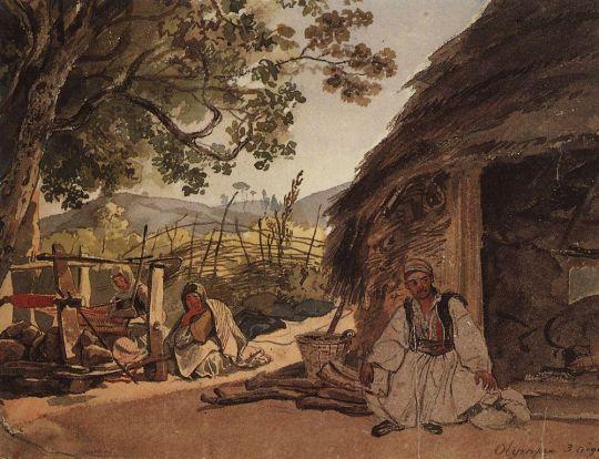 Греческое утро в Мираке.