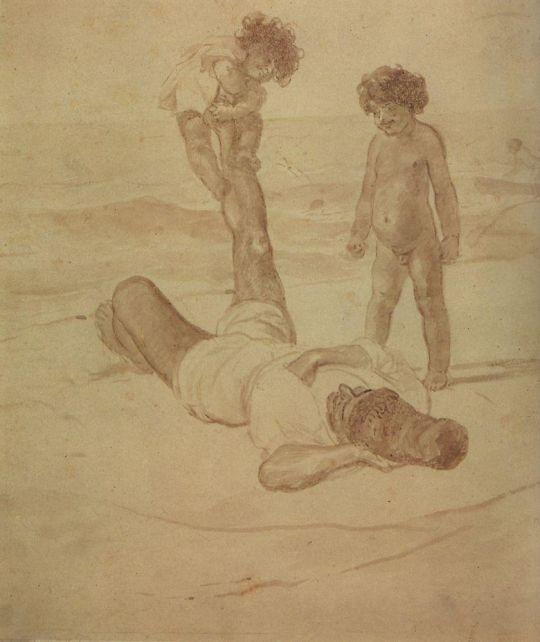 Лаццарони и дети.