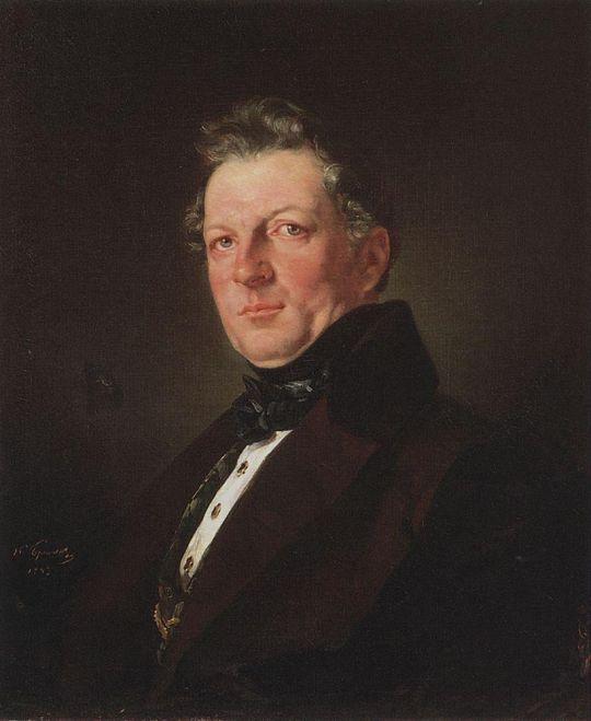 Портрет архитектора А.М.Болотова.