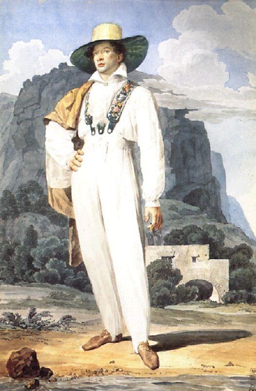 Портрет В.А.Перовского.
