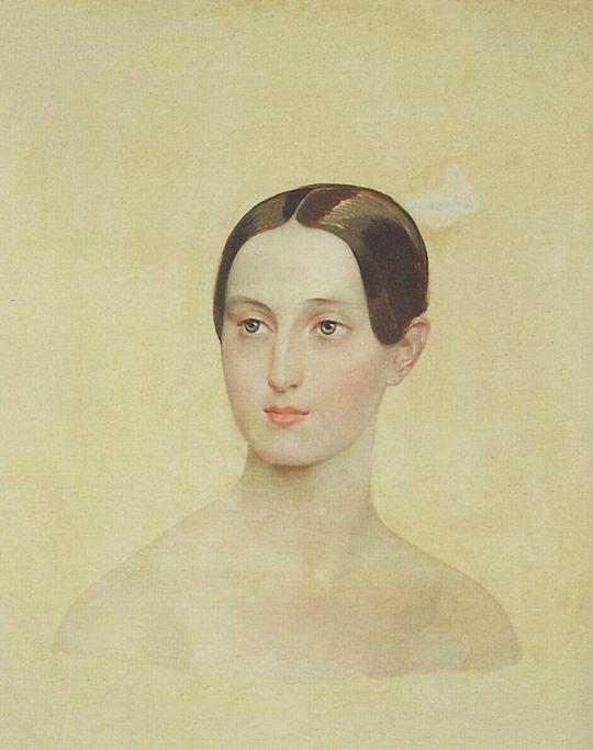 Портрет великой княжны Марии Николаевны.