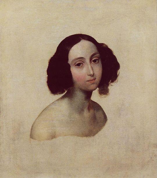 Портрет великой княжны Ольги Николаевны.