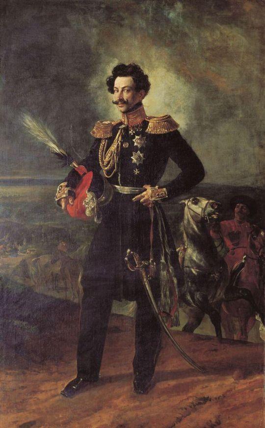 Портрет генерал-адьютанта графа Василия Алексеевича Перовского.