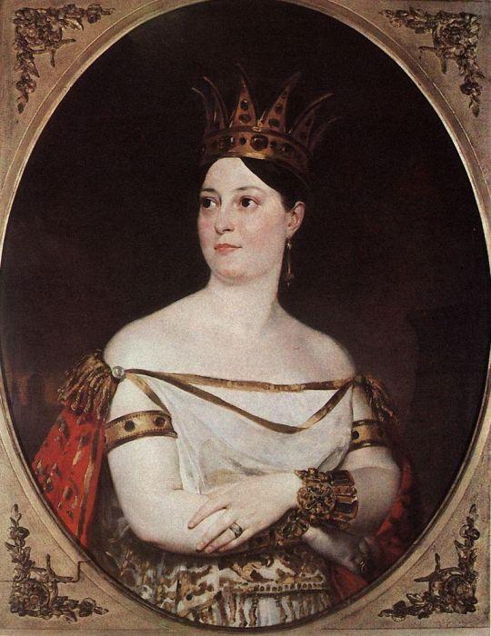 Портрет Джузеппины Ронци де Беньис.