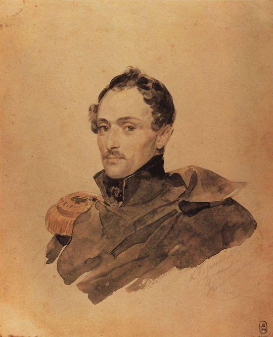 Портрет капитана А.М.Костиница.