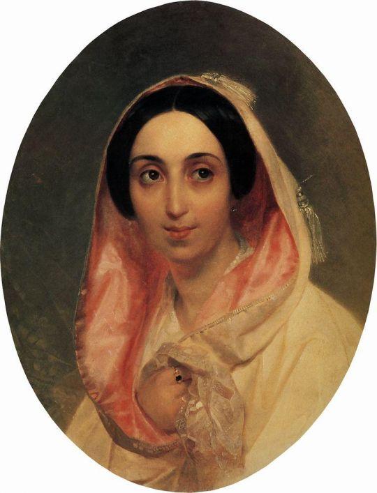 Портрет княгини А.А.Багратион.