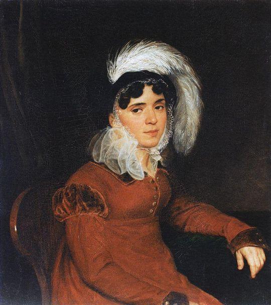 Портрет М.А.Кикиной.