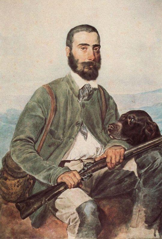 Портрет Мариано Титтони.