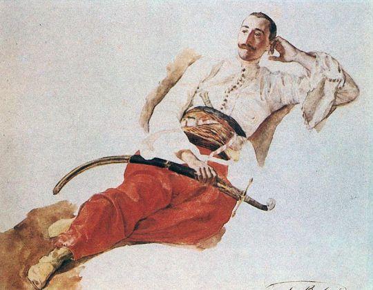 Портрет П.А.Чихачева.