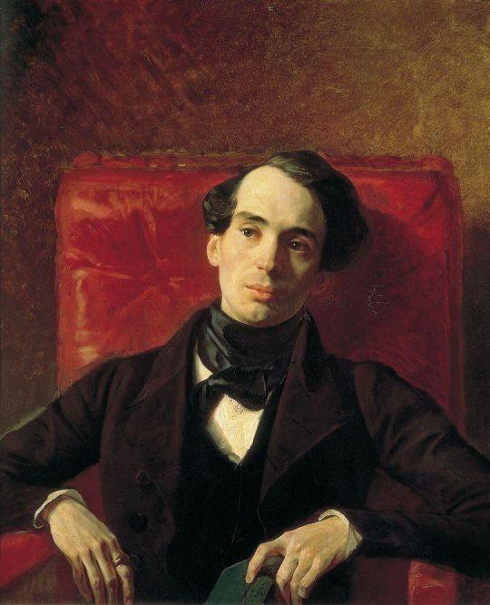 Портрет писателя А.Н.Струговщикова.