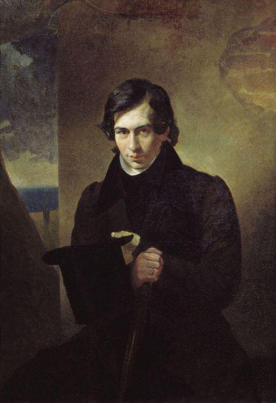 Портрет писателя Н.В.Кукольника.