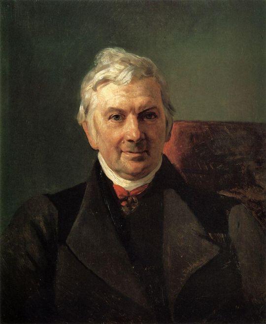 Портрет профессора Медико-хирургической академии в Москве К.А.Яниша.