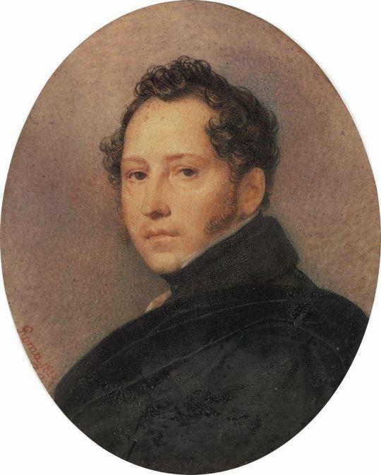Портрет С.Ф.Щедрина.