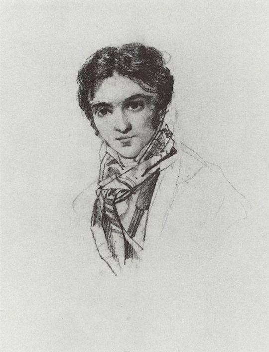 Портрет Ф.А.Бруни.