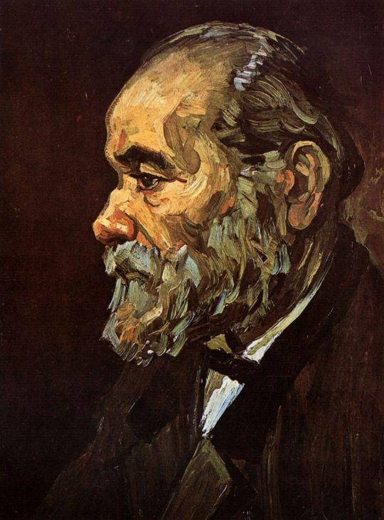 Портрет старика с бородой