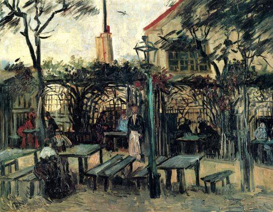 Терраса Кафе на Монмартре