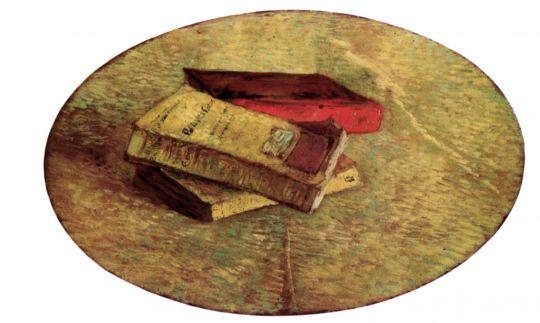 Натюрморт с Тремя Книгами