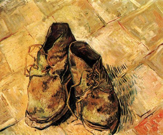 Пара ботинок
