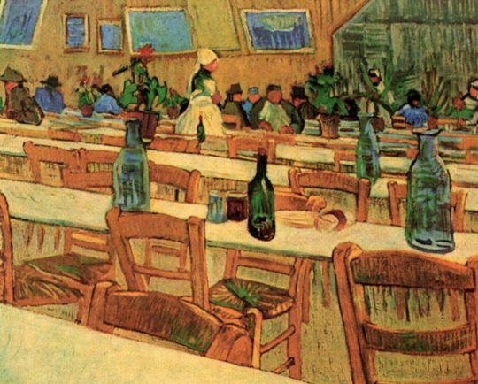 Интерьер ресторана Каллель в Арле