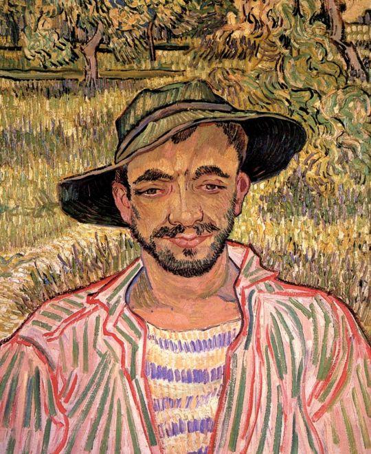 Портрет молодого крестьянина