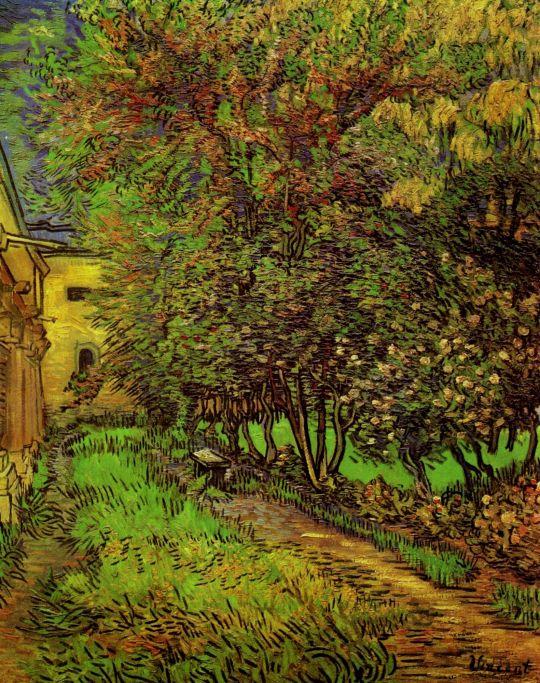 Сад в больнице Сент-Пола