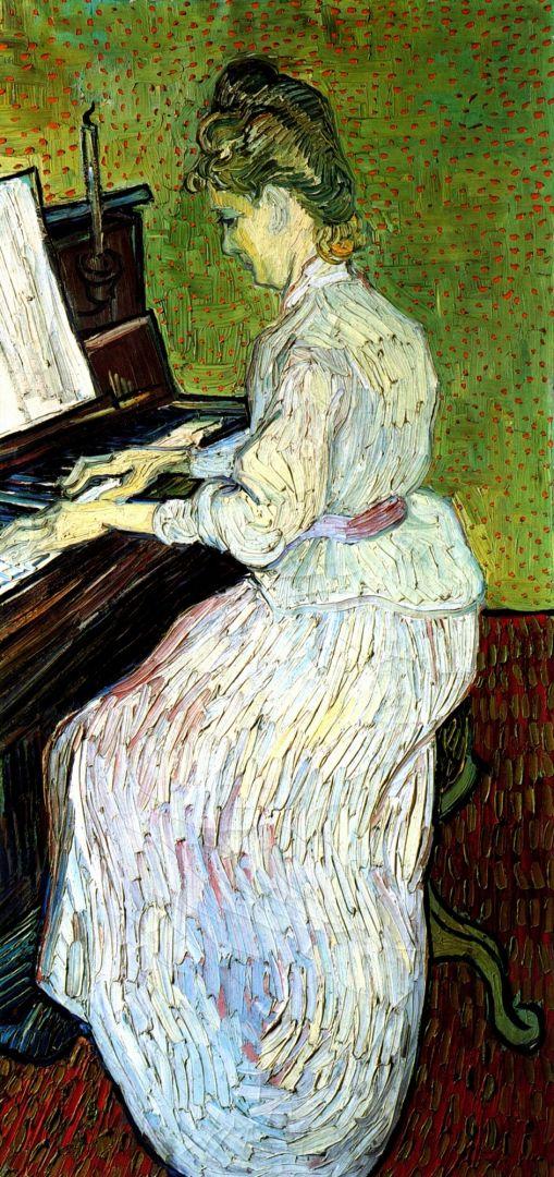 Маргарита Гаше у фортепиано