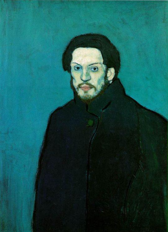 Автопортрет в голубой период