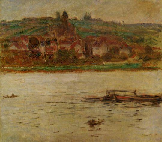 Баржа в Сене в Ветёй, также известный как Ветёй