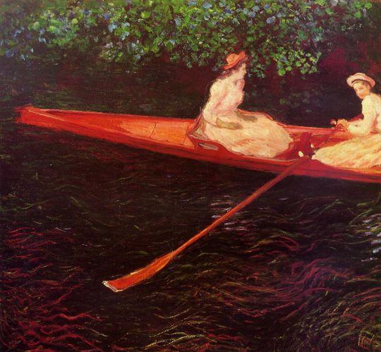 Катание на лодке по реке Эпт