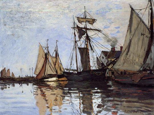 Лодки в порту Онфлер
