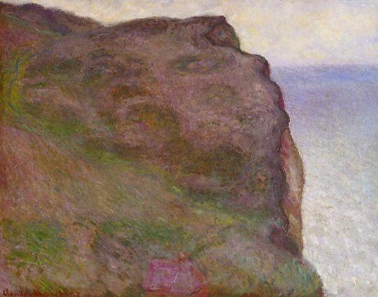 Скалы в Пти Ай в сумерках