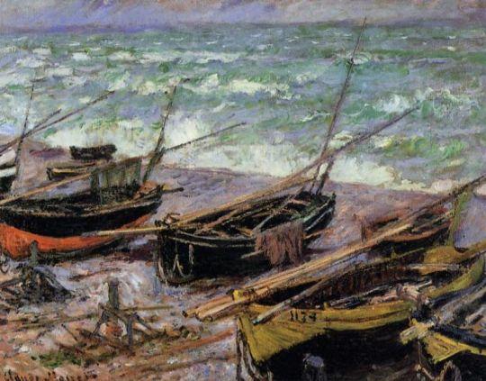 Рыбацкие лодки (исследование)