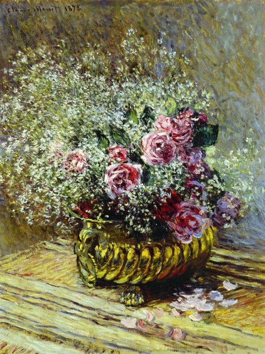 """Цветы в горшке. Также известный как """"розы и дыхание ребёнка"""""""
