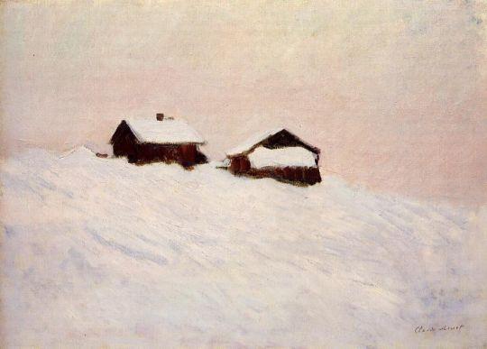 Дома в снегу, Норвегии