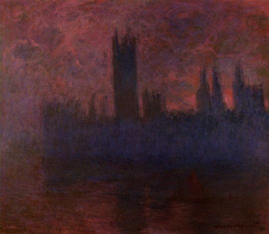 Дом Парламента, эффект тумана