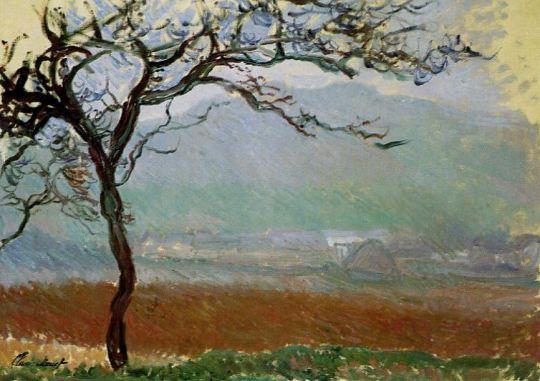 Пейзаж в Живерни