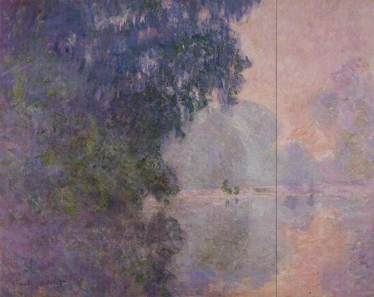 Утро (левый фрагмент)