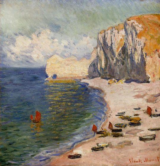 Пляж в Трувиль