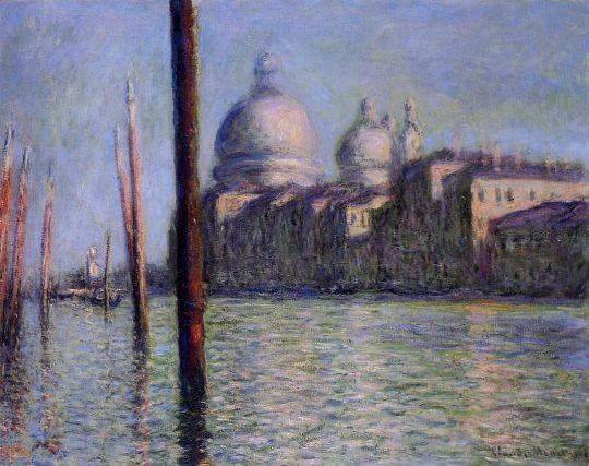 Гранд-канал и Санта Мария делла Салюте