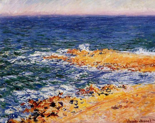 Море в Антиб
