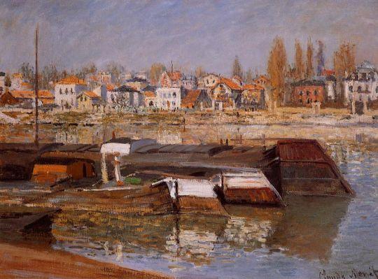 Сена в Аньер