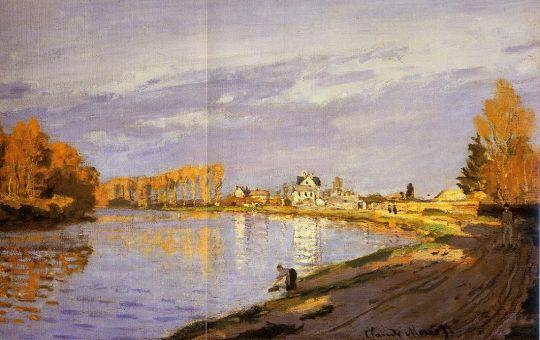 Сене вблизи Буживаль (фрагмент)