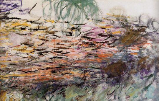 Водяные лилии (фрагмент)