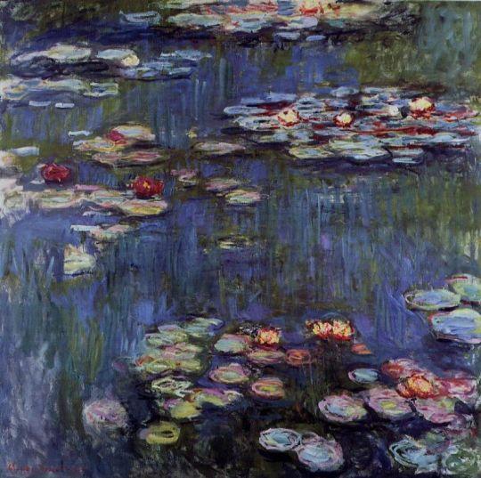 Водяные лилии 50