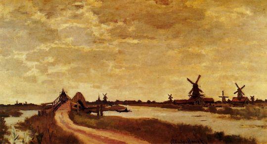 Ветряные мельницы в Халдерсброке, Зандам